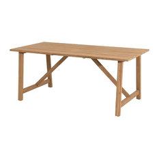 Soho Natural Teak Rectangular Garden Dining Table