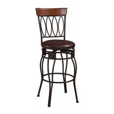 Four Oval-Back Stool Counter Height