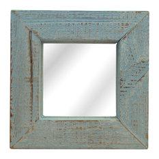 - Espejo azul vintage Yeah! - Espejos de pared