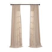 Hilo Solid Curtain, Single Panel