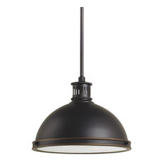 Sea Gull Lighting LED-Light Pendant, Autumn Bronze, Medium