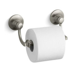 Kohler Bancroft Toilet Tissue Holder, Vibrant Brushed Nickel