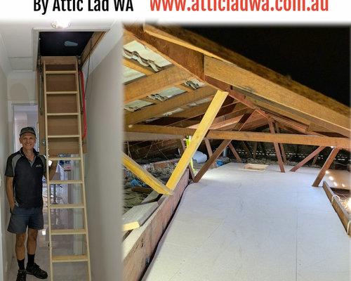 Perth  Attic storage by Attic Lad WA - Storage and Organisation