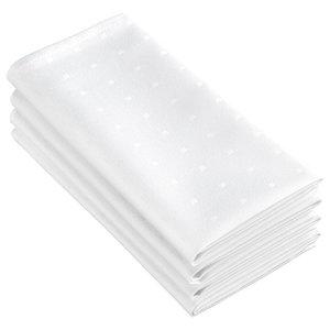 Puntos 4-Piece Napkin Set, Off-White