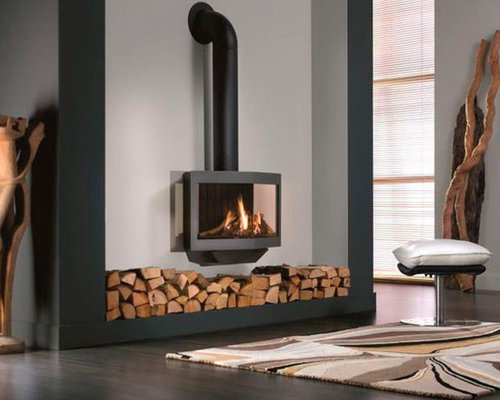- Wanders Stealth Balanced Flue Gas Fireplace Stove