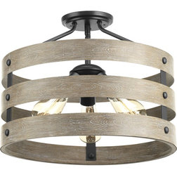 Farmhouse Flush-mount Ceiling Lighting by Lighting New York