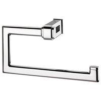Valencia NAKAR Wall Mounted Open Towel Ring Holder Bath Hand Towel Holder, Brass