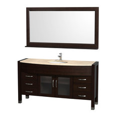 inch single sink bathroom vanities  houzz, Bathroom decor