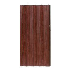 "Spectrum Woodshire Folding Door Mahogany, 48""x80"""