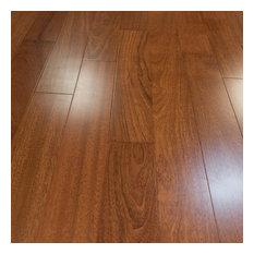 Brazilian Cherry Prefinished Solid Wood Flooring, Sample