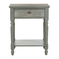 Safavieh Tami French Gray, Wood Color, French Gray Night Stands