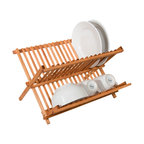 Over The Sink Roll Up Drying Rack Modern Dish Racks