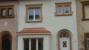 Rénovation d'une habitation à Luxembourg