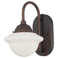 """Millennium Lighting, 5371-RBZ, Neo-Industrial 7"""" Wall Sconce Rubbed Bronze"""