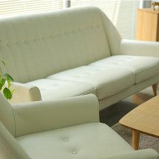 Dwell Leather Sofa   2 Seater   Sofas