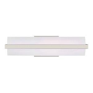 Sea Gull Lighting 4616191S-962 Large LED Wall//Bath Brushed Nickel
