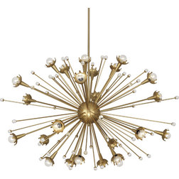 Beautiful Contemporary Chandeliers by Seldens Furniture