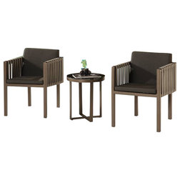Transitional Outdoor Lounge Sets by Babmar® Modern Outdoor Furniture