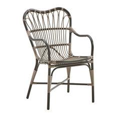 Sika Design Margaret Garden Lounge Chair, Mochaccino Brown