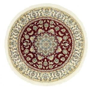 Nain 9La Oriental Rug, Round Hand-Knotted, 156x156 cm