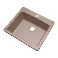 Northbrook 1-Hole Kitchen Sink, Desert Sand