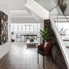 Houzz Tour: A Modern-chic Flat That is Ready For Entertaining