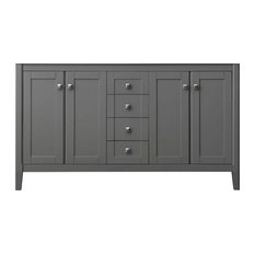 Shelton Bath Vanity, Sapphire Gray Cabinet Only, 59""