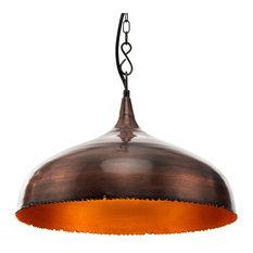 Brikk - Malena Industrial Copper Pendant Light - Pendant Lighting