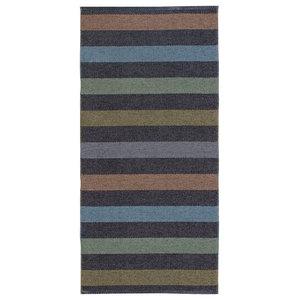 Happy Woven Floor Cloth, Graphite, 70x200 cm