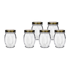 Orto Canning Jar With Lid 27.5 Oz, Set of 6