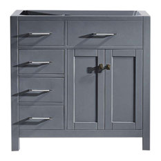 Caroline Parkway 36-inch Cabinet Only Gray