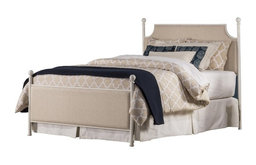 Mcarthur Bed Set, Off-White Finish, Full, Bed Frame Included, Off-White