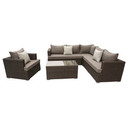 Tropical Outdoor Lounge Sets by Pangea Home