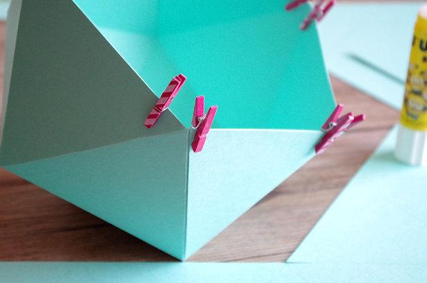 Lampada Origami Istruzioni : Come creare un paralume con gli origami fai da te