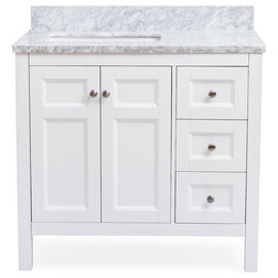 Transitional Bathroom Vanities And Sink Consoles by PL ContainerUp to 65  Off White and Gray Vanities. Off White Vanity Table. Home Design Ideas