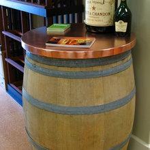 New England Wine Cellars Finish Work