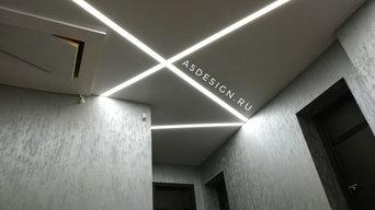 Коттедж с современным дизайном освещения
