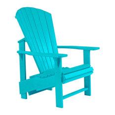 Generations Upright Adirondack Chair, Turquoise