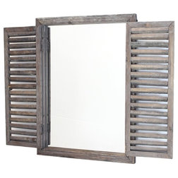 Farmhouse Wall Mirrors by Home Garden Collections