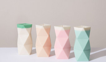 Geometric Scented Candles