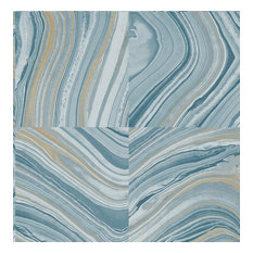 Agate Blue Stone Wallpaper Bolt