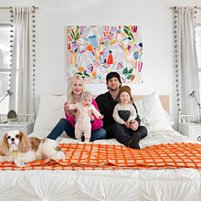 My Houzz: Bright, Kid-Friendly Home for a Creative Couple