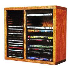 Cd/Dvd Storage Cabinet Dark