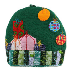 Christmas Presents Quilted Cotton Tea Cozy