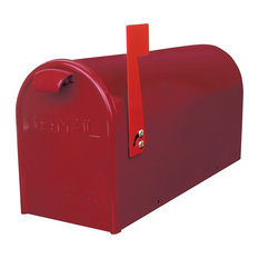 GDM Curbside Mailbox, Red