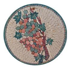 "Mosaic Patterns, Abstract Vine, 14""x14"""