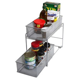 Contemporary Pantry And Cabinet Organizers by YBM HOME INC.