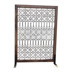 Teak and Iron Screen