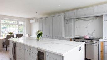 Urban Kitchen with Marble worktops