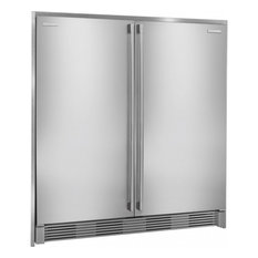 "Electrolux - Electrolux 72"" Tall Stainless Steel Double Collar Trim Kit - Refrigerators"